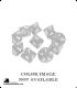 Chessex: Opaque Yellow/Black d10 dice set (10)