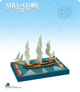 Sails of Glory: Sirena - 1793 (Spanish) Ship Pack