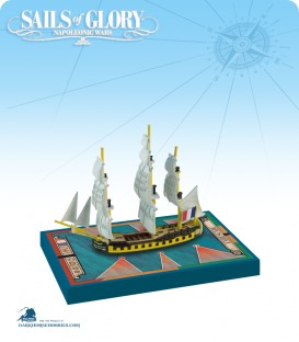 Sails of Glory: HMS Ambuscade - 1773 (British) Ship Pack