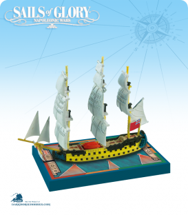 Sails of Glory: HMS Bellona - 1760 (British) Ship Pack