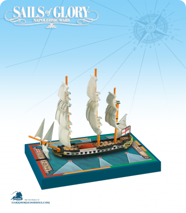 Sails of Glory: HMS Sybille - 1791 (British) Ship Pack