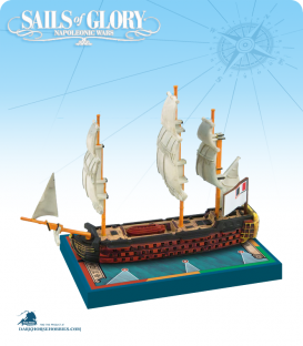 Sails of Glory: Montagne - 1793 (French) Ship Pack