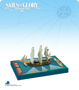Sails of Glory: Alligator - 1782 (French) Ship Pack