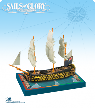 Sails of Glory: HMS Royal Sovereign - 1786 (British) Ship Pack