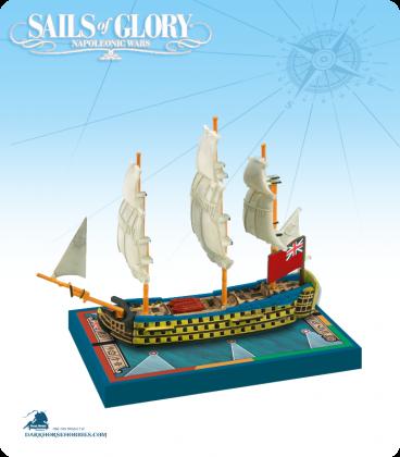 Sails of Glory: HMS Royal George - 1788 (British) Ship Pack
