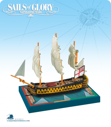 Sails of Glory: HMS Queen Charlotte - 1790 (British) Ship Pack