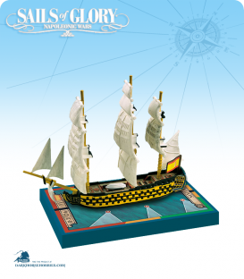 Sails of Glory: Santa Ana - 1784 (Spanish) Ship Pack