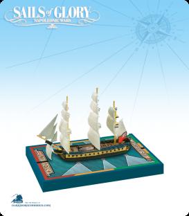 Sails of Glory: HMS Hamadryad - 1797 (British) Ship Pack