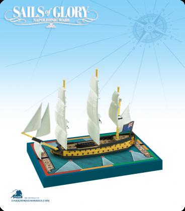 Sails of Glory: HMS Polyphemus - 1782 (British) Ship Pack