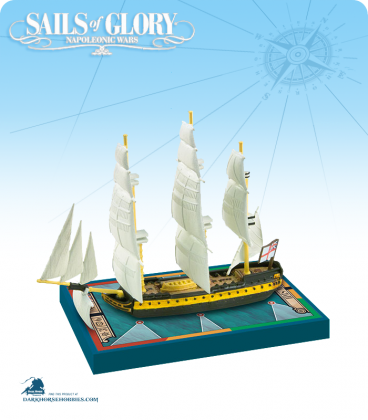 Sails of Glory: HMS Malta - 1800 (British) Ship Pack