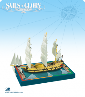 Sails of Glory: Duc de Duras 1765 (EIC) Ship Pack