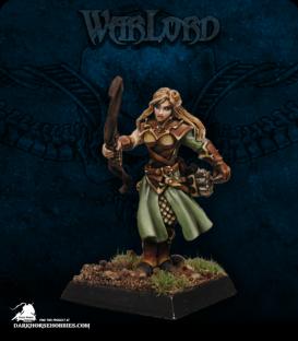 Warlord: Blade Sisters - Lorielle Silverrain (painted by Marike Reimer)