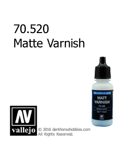 Vallejo Game Color: Acrylic Paint - Matte Varnish (17ml)