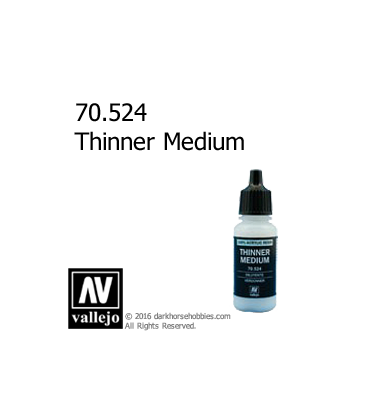 Vallejo Game Color: Acrylic Paint - Thinner (17ml)