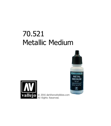 Vallejo Game Color: Acrylic Paint - Metallic Medium (17ml)