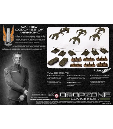 Dropzone Commander: Core UCM Starter Army (In Plastic)