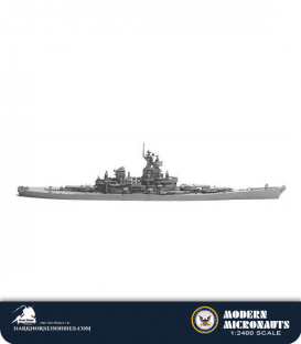 Modern Micronauts (US Navy): BB-61 Iowa