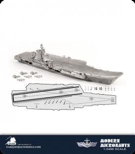 Modern Micronauts (Chinese Navy): Liaoning (Shi-Lang)