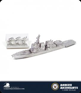 Modern Micronauts (US Navy): DDG Arleigh Burke Flight IIA