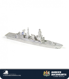 Modern Micronauts (British Navy): DDG Daring (Type 45) Class Guided Missile Destroyer