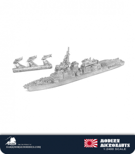 Modern Micronauts (Japanese Navy): DDG-173 Kongo Guided Missile Destroyer