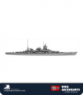 German WWII Micronauts: CB Scharnhorst Cruiser