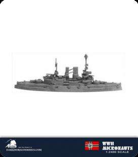 German WWII Micronauts: BB Schleswig-Holstein Battleship