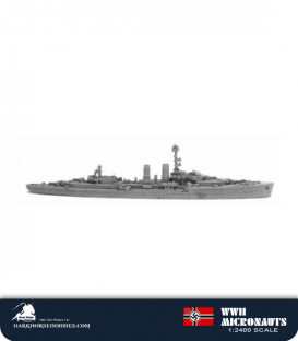 German WWII Micronauts: CL Emden (1939) Light Cruiser