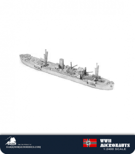 German WWII Micronauts: Pinguin (HSK 5) Armed Merchant Cruiser
