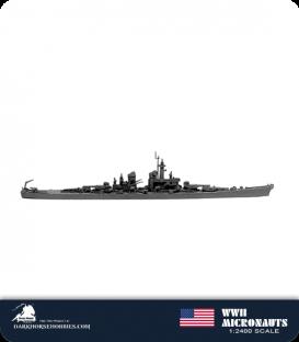United States WWII Micronauts: BB-67 Montana Battleship
