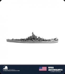 United States WWII Micronauts: BB-59 Massachusetts Battleship