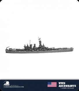 United States WWII Micronauts: BB-55 North Carolina Battleship