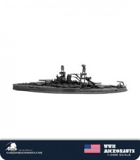 United States WWII Micronauts: BB-37 Oklahoma Battleship