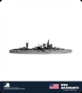 United States WWII Micronauts: BB-33 Arkansas Battleship
