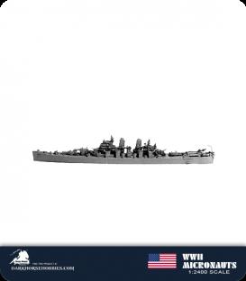 United States WWII Micronauts: CA-72 Pittsburgh Heavy Cruiser