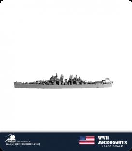 United States WWII Micronauts: CA-68 Baltimore Heavy Cruiser