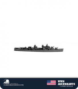 United States WWII Micronauts: DD Gearing Class Destroyer(s)