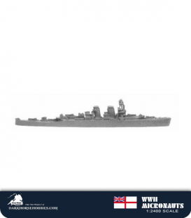 United Kingdom WWII Micronauts: HMS Frobisher (CA/D81) Heavy Cruiser