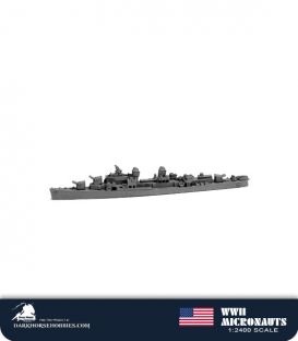 United States WWII Micronauts: DD Sumner Class Destroyer(s)