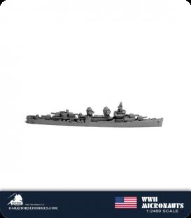 United States WWII Micronauts: DD Fletcher Class (Round Bridge) Destroyer(s)