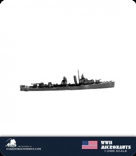United States WWII Micronauts: DD Porter Class Destroyer(s)