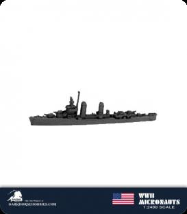 United States WWII Micronauts: DD Benson Class Destroyer(s)