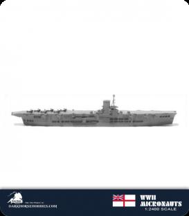 United Kingdom WWII Micronauts: HMS Ark Royal (CV/91) Aircraft Carrier