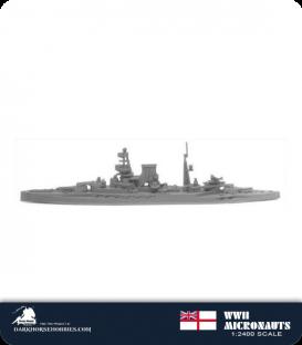 United Kingdom WWII Micronauts: HMS Barham (BB/04) Battleship