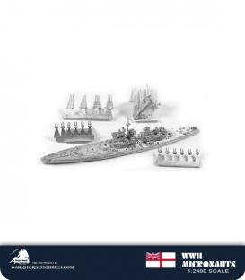 United Kingdom WWII Micronauts: BB Lion Battleship