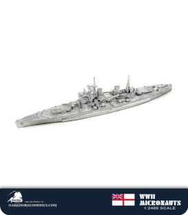 United Kingdom WWII Micronauts: HMS Prince of Wales (BB/53) Battleship