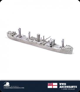 United Kingdom WWII Micronauts: MV Clan Macaulay Merchant Vessel