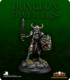Dungeon Dwellers: Rictus the Undying (painted by Michael Proctor)