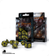 Dragons Black-Yellow Polyhedral Dice Set (7)