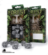 Forest White-Black Polyhedral dice set (7)